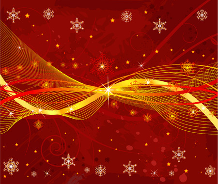 Abstract   Christmas background - vector Stock Vector - 1989656