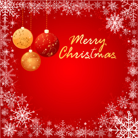 Abstr Christmas background vector Vector