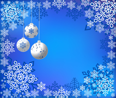 Christmas abstract background, vector Vector