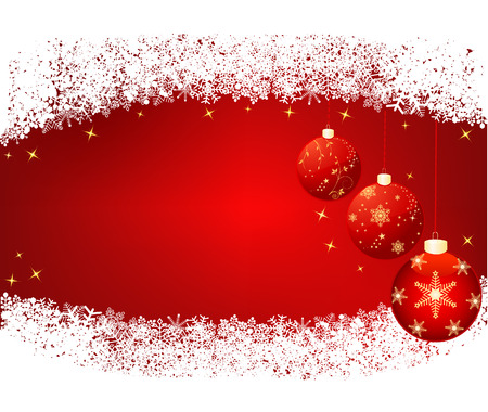 Christmas abstract background, vector Illustration