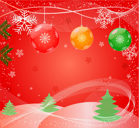 ration: Christmas abstract Background