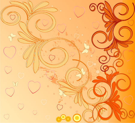 artistic background illustratio Vector