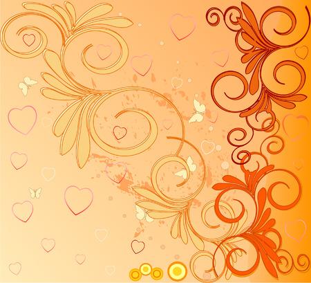 artistic background illustratio Vector