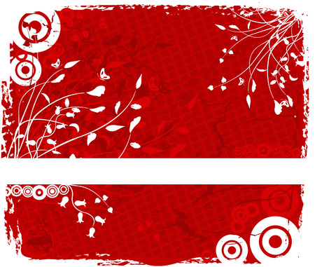 Floral  background - vector Stock Vector - 2356048
