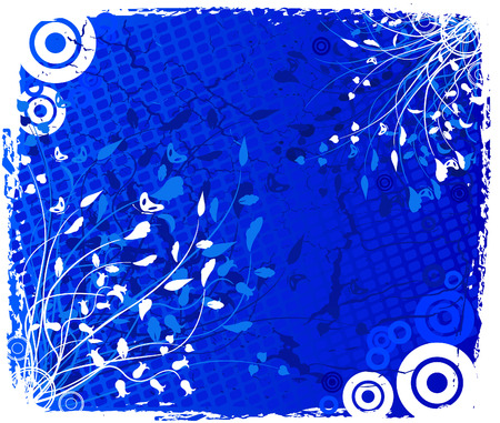 Floral  background - vector Stock Vector - 2356051