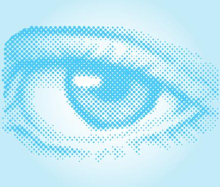Eye in vector Stock Vector - 2416717