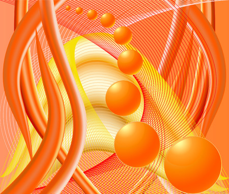 saturated: Abstract  artistic   background  vector illustration