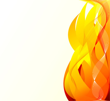Abstract  artistic  fire background Illustration