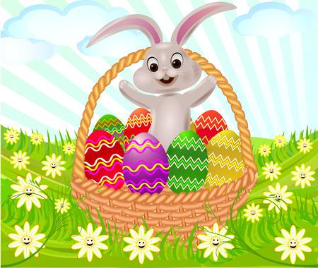 Easter background vector design decor artistic illustration