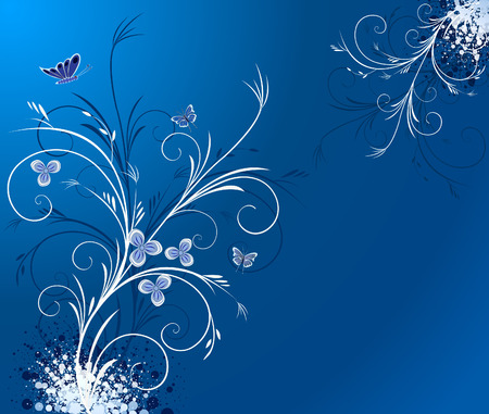Floral  artistic vector design Illustration