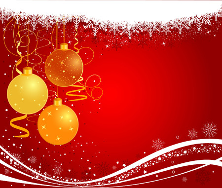 Christmas vector background Stock Vector - 3874294