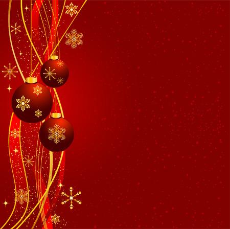 크리스마스 벡터 배경 일러스트