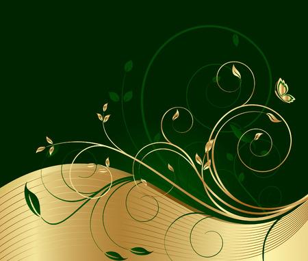 floral vector: Dise�o floral del vector Vectores