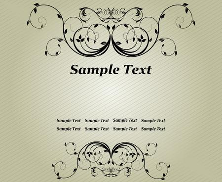 Floral vector design Stock Vector - 4478501