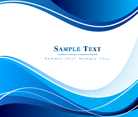 Blue abstract vector design