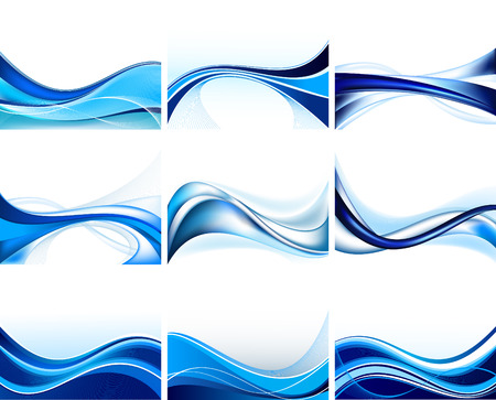 Set of abstract  background vector Vector