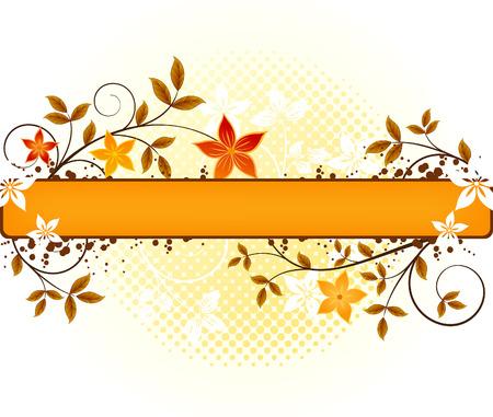 Floral   vector design  Stock Vector - 5312584