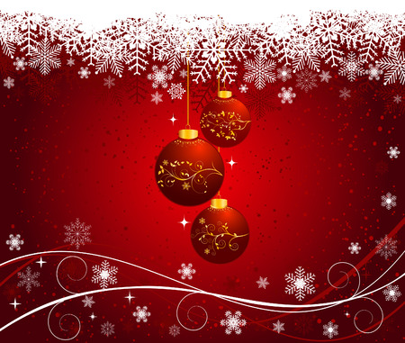 bstract: bstract Christmas background vector