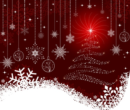 Christmas background  Stock Vector - 11140828
