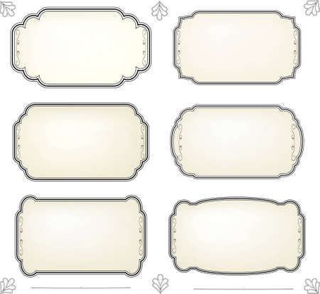 aristocrat:  Vintage Label set