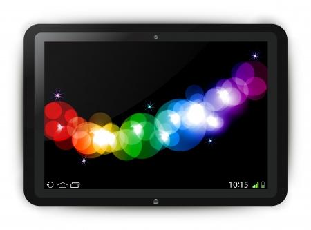 Tablet illustration  Stock Vector - 21597716