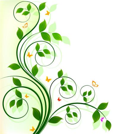 design: Floral background design Illustration