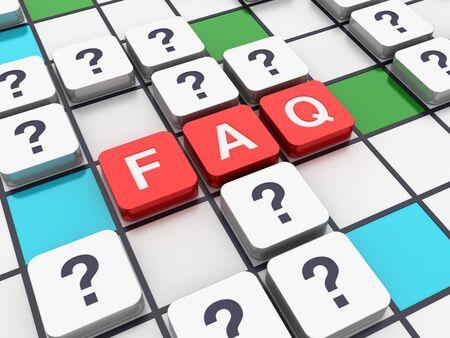 Crossword Series: FAQ - High Quality 3D Rendering