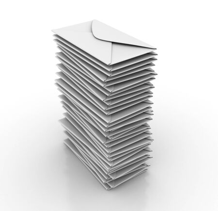 Stack Envelopes - High Quality 3D Rendering