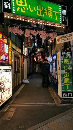 alley: Tokyo backstreet alley