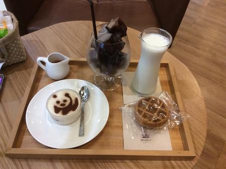 afternoon cafe: Gran tarde de café Foto de archivo
