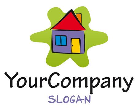bunt: Ein Logo für den Bereich Hausbau- und -Pflege