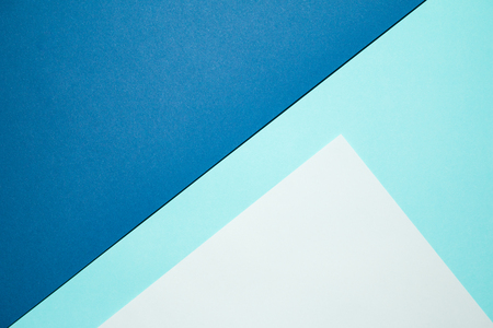two tone: Two tone of blue paper background.