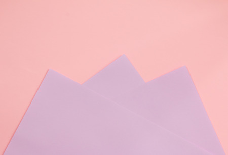 Colorful of soft purple and pink paper background. Stock Photo