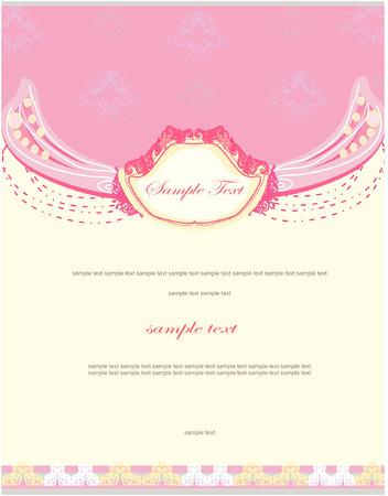 wedding invitation Stock Vector - 8400821
