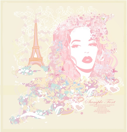 shoptalk: Beautiful women Shopping in Paris card