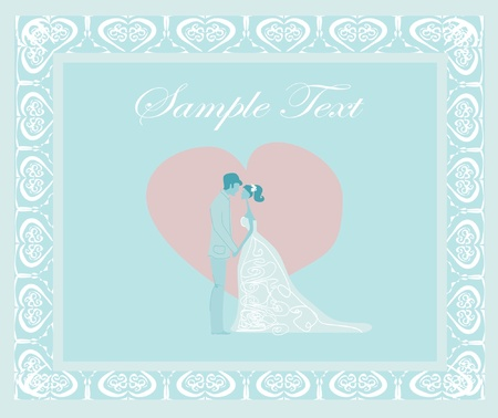 elegant wedding invitation    Stock Vector - 11277114