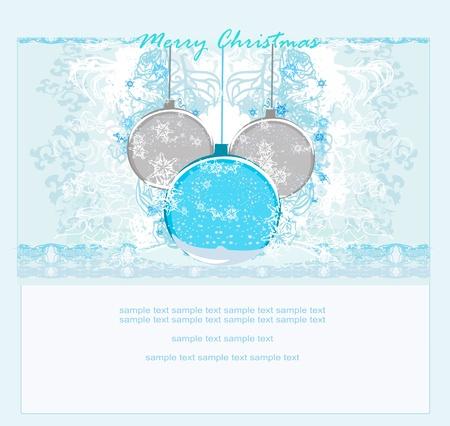 Christmas Framework style card. Stock Vector - 11477345