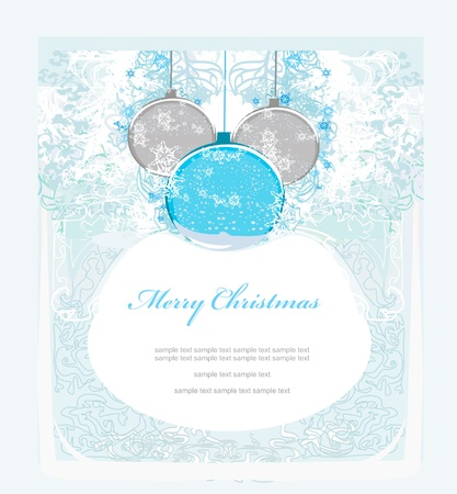 Christmas Framework style card.           Stock Vector - 11477344