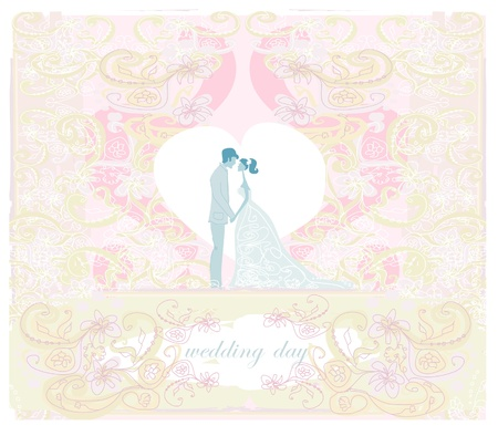 elegant wedding invitation Stock Vector - 11563562