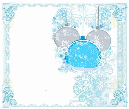 Christmas Framework style card. Stock Vector - 11563639