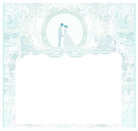 devotion: elegant wedding invitation