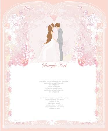 marry: elegant wedding invitation