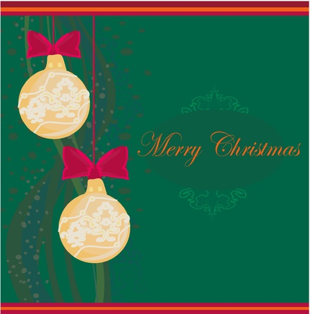 Christmas Framework style card Stock Vector - 11658018