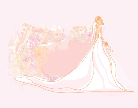 Carte de mariée Belle