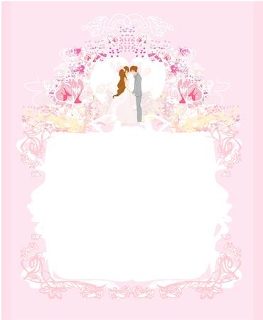 fond mariés danse