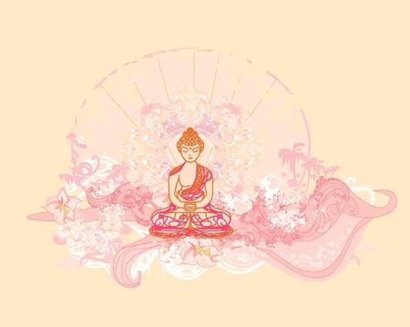 buddist: Chinese Traditional Artistic Buddhism Pattern