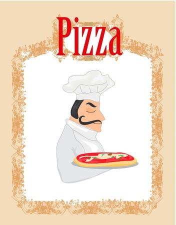 Pizza Menu Template Stock Vector - 12162383