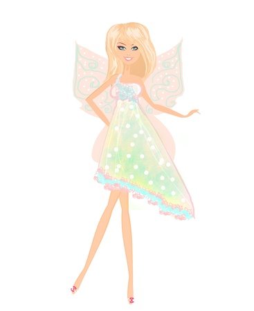 beautiful fairy  photo