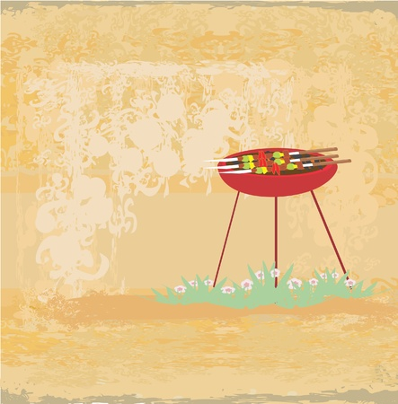 ham sandwich: Barbecue Party Invitation