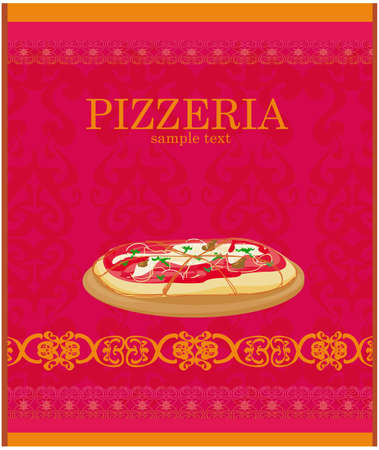 Pizza Menu Template Royalty Free Cliparts Vectors And Stock